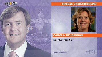 RTL Nieuws NS om 7:00 uur: Nog weinig problemen