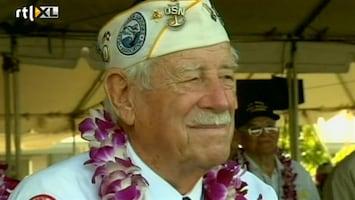 RTL Nieuws 70 jaar Pearl Harbour herdacht
