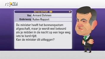 RTL Nieuws Opstelten: te hard is te hard