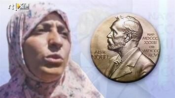 RTL Nieuws Nobelprijs voor de vrede voor drie vrouwen