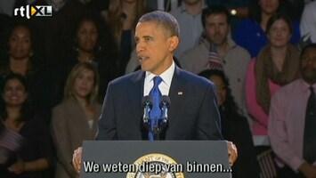 Editie NL Speech Obama: we zijn één familie