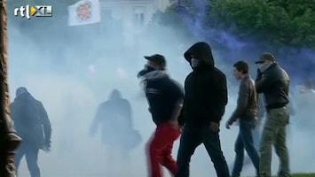 RTL Nieuws Rellen bij demonstratie tegen homohuwelijk in Parijs