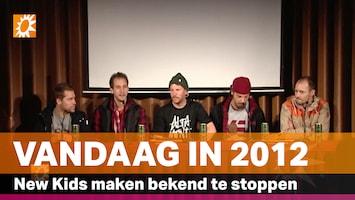 Vandaag in 2012: New Kids maken bekend te stoppen