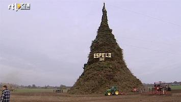 RTL Nieuws Espelo klaar voor grootste paasvuur ooit