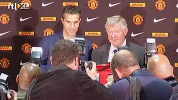 RTL Nieuws Robin van Persie gepresenteerd bij Manchester United