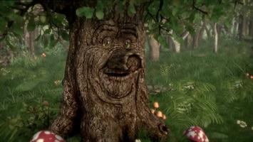 Sprookjesboom De saaie wolf