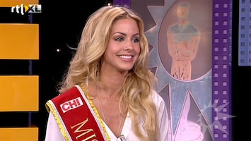 RTL Boulevard Nathalie den Dekker over Miss World verkiezing