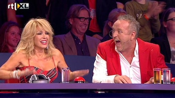 Holland's Got Talent De rode knop...