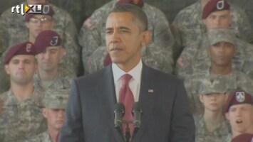 RTL Nieuws Obama: Oorlog Irak is voorbij