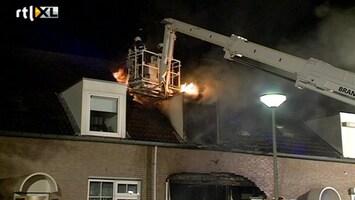 RTL Nieuws Drie gewonden bij brand Berg aan de Maas
