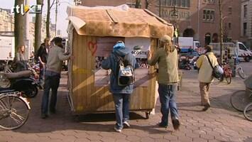 RTL Nieuws Occupy'ers vertrekken van Beursplein