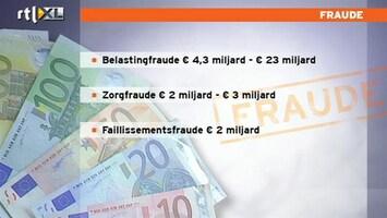 RTL Nieuws 'Fraude tast ons sociale stelsel aan'