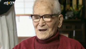 RTL Nieuws Oudste man ter wereld (115) jarig