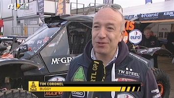 RTL GP: Dakar Pre-proloog Interview Tim Coronel
