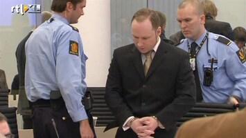 RTL Nieuws Rechter kapittelt Breivik vijf keer
