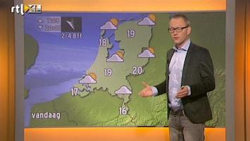 RTL Nieuws 'Buien trekken naar zuiden weg, 16 tot 20 graden'