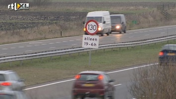 RTL Nieuws Veel meer wegen niet veilig genoeg voor 130