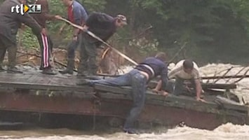 RTL Nieuws Ravage na zware regenval