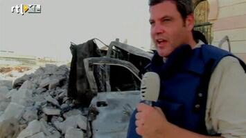 RTL Nieuws Roel Geeraedts bij de rebellen in Syrië