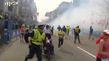 RTL Nieuws Uncut: De eerste minuten na de explosies in Boston
