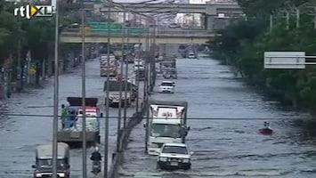 RTL Nieuws Thaise bevolking boos om overstromingen