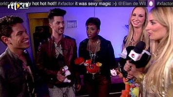 X Factor Adlicious ging los!