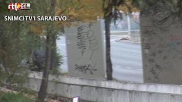 RTL Nieuws Schutter bij ambassade VS in Bosnië neergeschoten