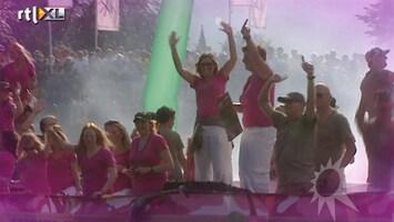 RTL Boulevard Kritiek en feest op Gaypride in Amsterdam