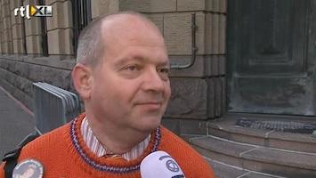 RTL Nieuws Eerste oranjeklanten langs de route