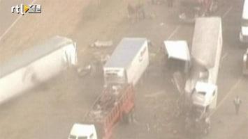 RTL Nieuws Enorm ongeluk door zandstorm