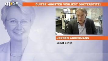 RTL Nieuws Correspondent: affaire minister schaadt ook Merkel