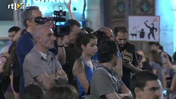 RTL Nieuws Spanjaarden woedend over politiegeweld