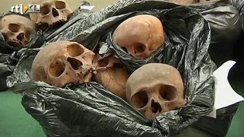 RTL Nieuws Peruaan gepakt met tientallen schedels