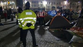 RTL Nieuws Occupy Londen door politie ontruimd