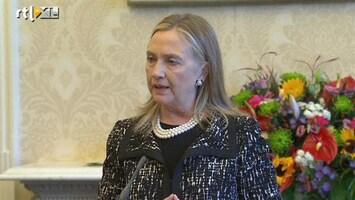 RTL Nieuws Hillary Clinton behandeld voor bloedprop