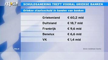 RTL Z Nieuws 11:00 Griekse afstempeling zal vooral Griekse banken treffen