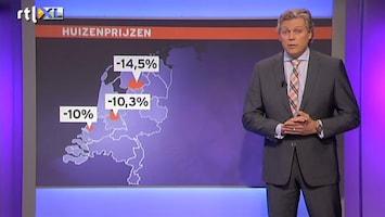 RTL Nieuws Huizenprijzen blijven dalen