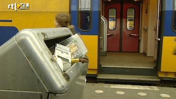 RTL Nieuws Schoonmakers staken weer