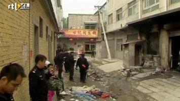 RTL Nieuws 17 doden bij brand naaiatelier Peking