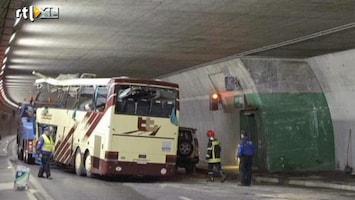 RTL Nieuws 'Zwarte strepen op de tunnelbuis'