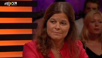 RTL Late Night Sterke Xandra zwemt voor ALS