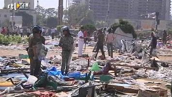 RTL Nieuws Leger Egypte veegt Tahrirplein schoon