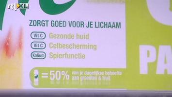 RTL Nieuws Strenger toezicht op reclame 'gezonde producten'
