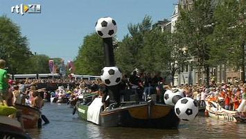 RTL Nieuws KNVB-boot op Gay Pride