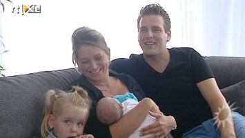 RTL Boulevard Op babybezoek bij zanger Wesley Klein