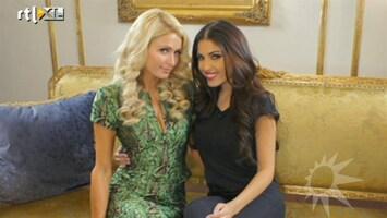 RTL Boulevard Yolanthe met Paris Hilton en Afrojack