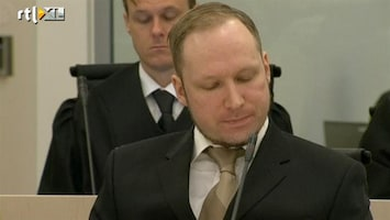RTL Nieuws Breivik als ijskonijn in rechtbank