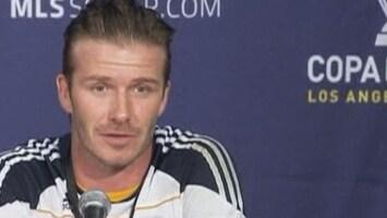 RTL Nieuws Beckham (36) kampioen met LA Galaxy
