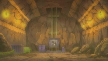 Pokémon Vechten tegen de koning van de mijnen