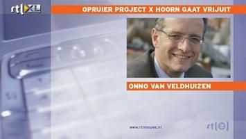 RTL Nieuws Opruier project X-feest Hoorn vrijuit